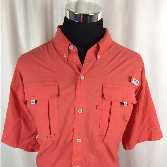 d1afd3a50c9 Columbia Mens 2XL Tall PFG Vented Fishing Shirt. M_5b253682d6dc52999f1094d9